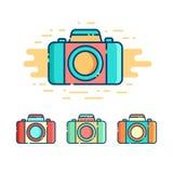 Логотип камеры фото Стоковые Фотографии RF