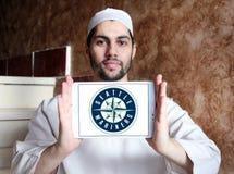 Логотип клуба бейсбола Сиэтл Маринерса Стоковые Изображения RF
