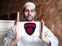 Логотип клуба футбола Мельбурна Стоковые Изображения