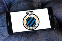 Логотип клуба футбола Brugge клуба Стоковое Изображение RF