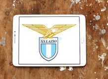 Логотип клуба футбола fc Лациа Стоковое фото RF