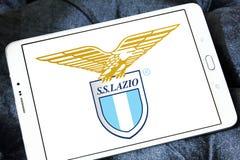 Логотип клуба футбола fc Лациа Стоковое Фото