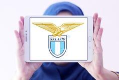 Логотип клуба футбола fc Лациа Стоковое Изображение RF