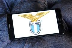 Логотип клуба футбола fc Лациа Стоковое Изображение