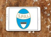 Логотип клуба футбола SPAL Стоковое фото RF