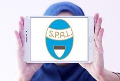 Логотип клуба футбола SPAL Стоковые Фото