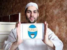 Логотип клуба футбола SPAL Стоковое Изображение
