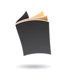 Логотип книги Стоковые Изображения RF