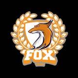 Логотип команды Fox Стоковая Фотография