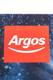 Логотип компании Аргоса стоковая фотография rf