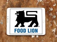 Логотип компании гастронома льва еды Стоковая Фотография RF
