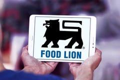 Логотип компании гастронома льва еды Стоковое Изображение RF