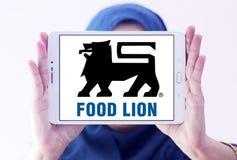 Логотип компании гастронома льва еды Стоковые Изображения RF