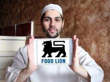 Логотип компании гастронома льва еды Стоковое Фото
