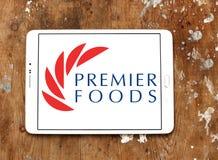 Логотип компании еды премьер-министра Стоковое Фото