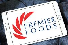 Логотип компании еды премьер-министра Стоковое Изображение