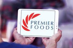 Логотип компании еды премьер-министра Стоковые Фото