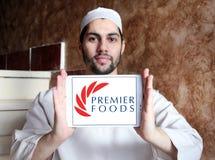 Логотип компании еды премьер-министра Стоковые Изображения