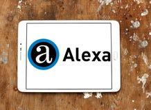 Логотип компании интернета Alexa Стоковые Фото