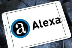 Логотип компании интернета Alexa Стоковое Изображение