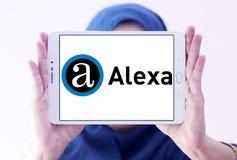 Логотип компании интернета Alexa Стоковое фото RF