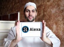 Логотип компании интернета Alexa Стоковые Изображения