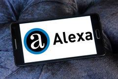 Логотип компании интернета Alexa Стоковое Фото