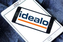 Логотип компании интернета Idealo Стоковое фото RF