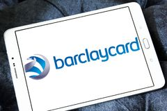 Логотип компании кредитной карточки Barclaycard Стоковое Фото