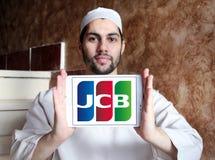 Логотип компании кредитной карточки JCB Стоковые Изображения RF