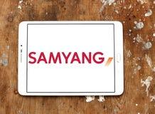 Логотип компании оптики Samyang Стоковые Изображения