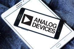 Логотип компании полупроводника аналоговых устройств Стоковое Изображение