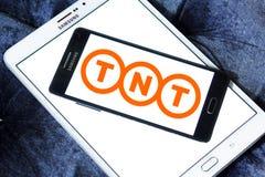 Логотип компании по транспортировке грузов Tnt почтовый Стоковая Фотография RF