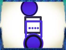 Логотип компании провайдер услуг интернета Стоковое фото RF