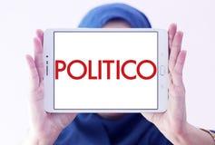 Логотип компании публицистики политикана политический Стоковые Изображения RF