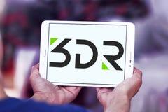 логотип компании робототехники 3D Стоковые Фото