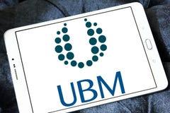 Логотип компании средств массовой информации UBM Стоковая Фотография