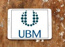 Логотип компании средств массовой информации UBM Стоковое Фото