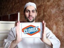 Логотип компании чистящих средств Clorox Стоковые Фотографии RF