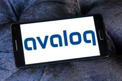 Логотип компании Avaloq Стоковые Фото