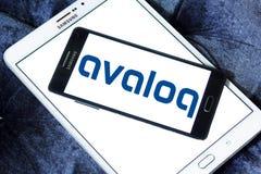 Логотип компании Avaloq Стоковое Фото