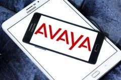 Логотип компании Avaya Стоковые Изображения