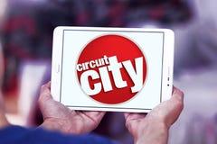 Логотип компании Circuit City Стоковые Фотографии RF