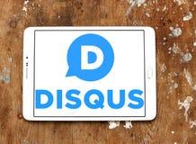 Логотип компании Disqus Стоковые Фотографии RF