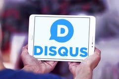 Логотип компании Disqus Стоковые Изображения