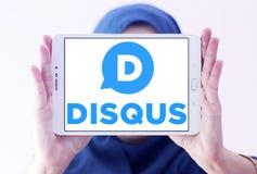 Логотип компании Disqus Стоковое Изображение