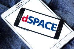 Логотип компании DSPACE ГмбХ Стоковая Фотография RF