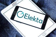 Логотип компании Elekta Стоковое фото RF