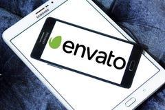 Логотип компании Envato Стоковое Изображение