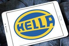 Логотип компании Hella Стоковая Фотография RF
